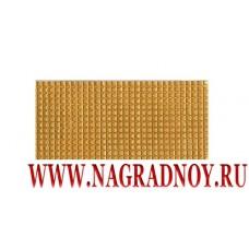 Лычка золотого цвета 20х45 мм