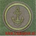 Шеврон Морской пехоты для формы ВКБО с липучкой