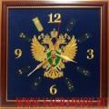 Настенные часы с символикой Прокуратуры России