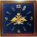 Настенные часы с эмблемой Воздушно-космических сил России