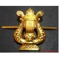 Петличная эмблема Военно-оркестровой службы МО РФ