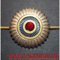 Кокарда Общегражданская рант золотого цвета