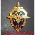 Нагрудный знак с эмблемой МВД