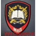 Нарукавный знак курсантов учебных заведений МВД России