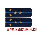 Погоны синего цвета звание капитан