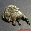 Значок охотничий Собака с фазаном