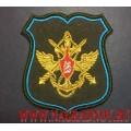 Нарукавный знак военнослужащих ЦОВУ видов ВС и родов войск