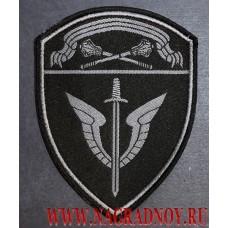 Жаккардовый нарукавный знак сотрудников ОМОН ЦО Росгвардии