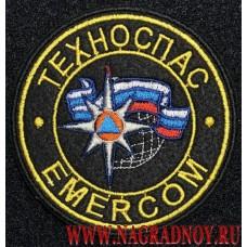 Шеврон с липучкой Техноспас