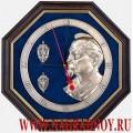 Настенные часы с эмблемой КГБ СССР и ФСБ России