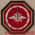 Настенные часы с эмблемой МВД России