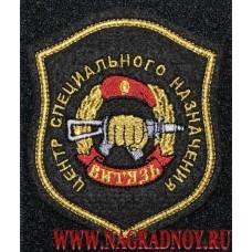 Шеврон Центр специального назначения Витязь с липучкой
