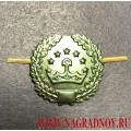 Петличная эмблема защитного цвета ВС Таджикистана