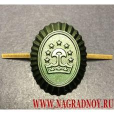 Полевая кокарда армии Таджикистана