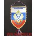 Вымпел с эмблемой Службы обеспечения деятельности ФСБ России