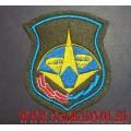 Нарукавный знак военнослужащих космодрома Плесецк