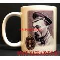 Сувенирная кружка 95 лет ВЧК КГБ ФСБ