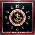 Часы настенные с эмблемой Морской пехоты России