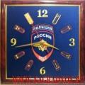 Часы настенные с эмблемой Полиции МВД России