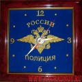 Часы настенные Россия Полиция