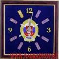 Часы настенные с эмблемой УБЭП ГУВД города Москвы