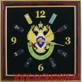 Часы настенные с символикой ПС ФСБ РФ