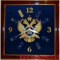 Часы настенные с эмблемой СВР России