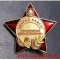 Нагрудный знак Парад кадет Не прервется связь поколений