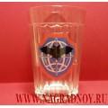 Граненый стакан с эмблемой Военной разведки