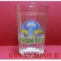 Граненый стакан с надписью За Дядю Васю