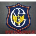 Шеврон Сенеж для парадной формы синего цвета