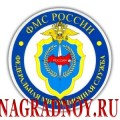 Виниловый магнит с эмблемой ФМС РФ