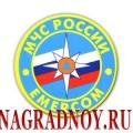 Виниловый магнит с эмблемой МЧС России
