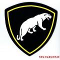Виниловый магнит с эмблемой ВВ МВД Пантера