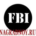 Виниловый магнит FBI
