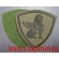 Нарукавный знак Северо-Западного регионального командования ВВ МВД России (с липучкой)