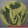 Камуфлированный шеврон командования ВВС