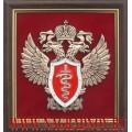 Плакетка с эмблемой ФСКН России