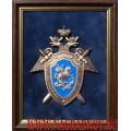 Плакетка с эмблемой Следственного комитета России