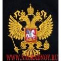 Футболка с вышитым Гербом России