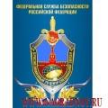 Магнит с эмблемой 20 Центра специальной связи ФСБ России