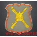 Нарукавный знак военнослужащих по принадлежности к аппарату НГШ для парадного кителя серого цвета