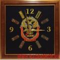 Настенные часы с эмблемой ЦСН Заслон СВР России