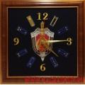 Настенные часы с эмблемой Управления А ЦСН ФСБ