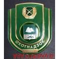 Нагрудный знак работников Охотнадзора Курганской области