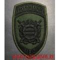 Нашивка на рукав ПОЛИЦИЯ охрана общественного порядка для полевой формы