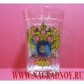 Граненый стакан с эмблемой СВР России