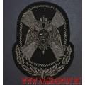 Шеврон черного цвета Центрального аппарата Росгвардии