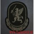 Шеврон черного цвета Главное командование Росгвардии
