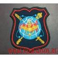 Нарукавный знак военнослужащих НЦУО РФ для парадной формы
